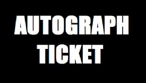 Dimensions 2014 Autograph Ticket